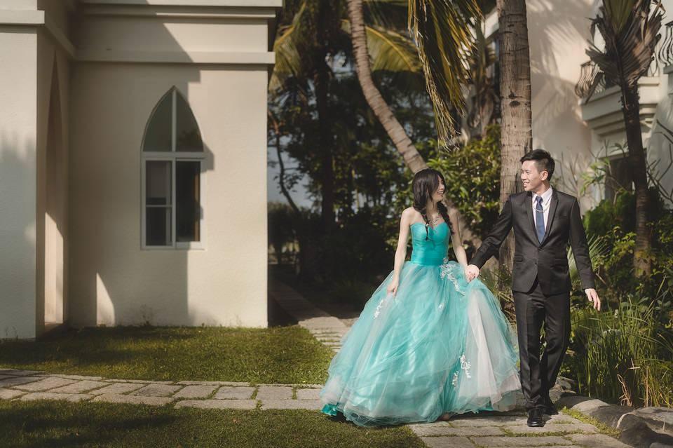 [婚禮攝影] 台南 台南商務會館戶外證婚