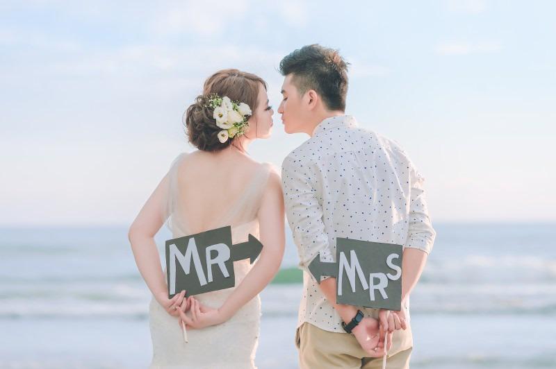 台南四草觀夕平台自助婚紗