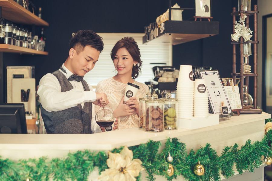 [台南自助婚紗] J&C 咖啡廳的邂逅