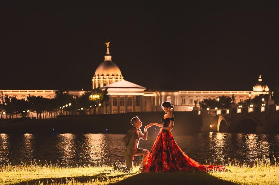 [台南自助婚紗] M&S 奇美博物館也可以很歐風 Hermosa婚紗