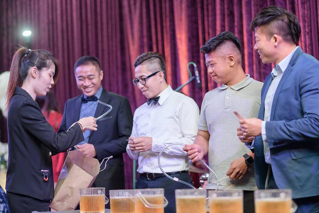 台南婚攝澤于|東東華平東瀛廳|伴郎啤酒大賽