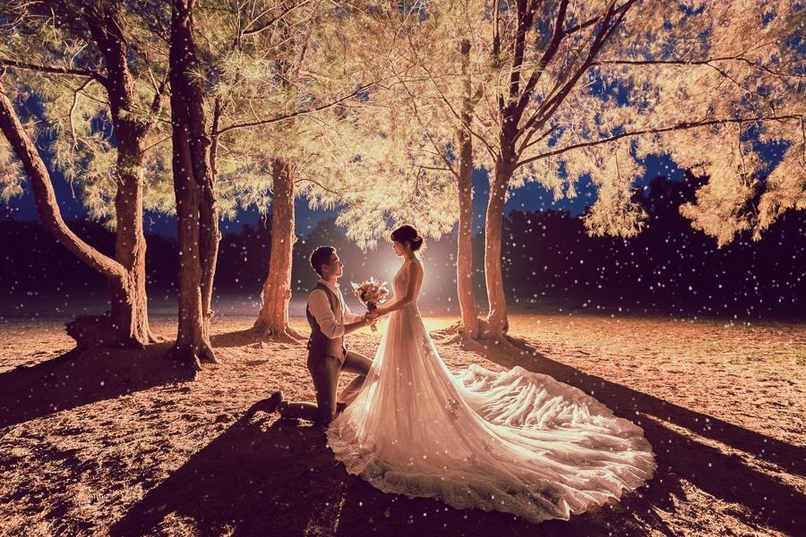 [台南自助婚紗]與你邂逅的那天紀錄屬於我們的回憶/inblossom手工訂製婚紗